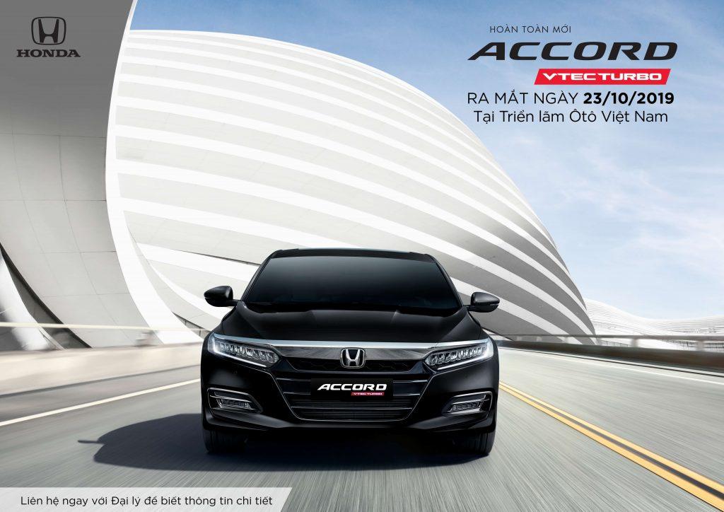 ra mắt honda accord 2019 4