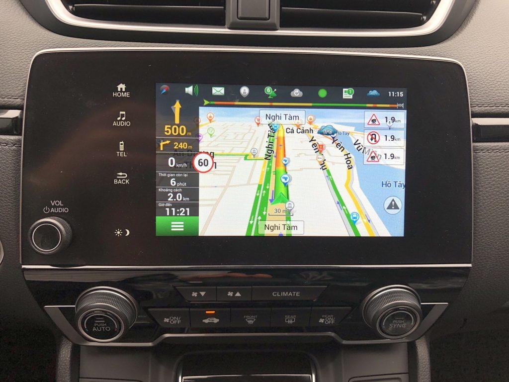 Hack màn hình Honda Crv 2021-1